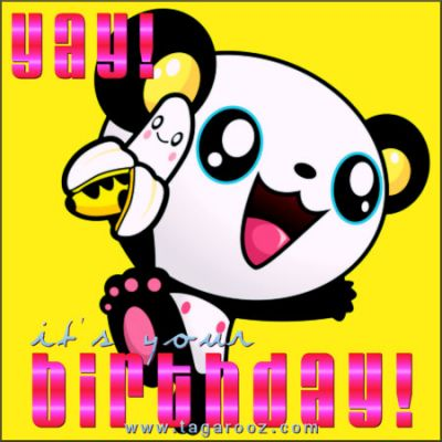 Yay it's your birthday| Tagarooz.com