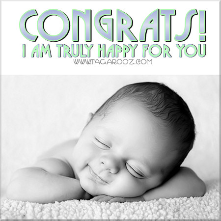 Congrats! I am truly happy for you | Tagarooz.com