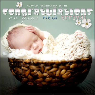 Congratulations on your new arrival | Tagarooz.com