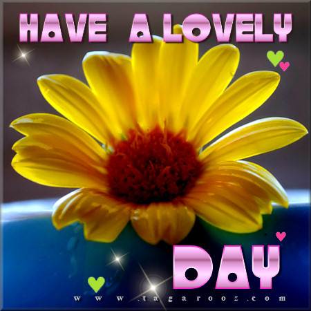 Have a lovely day | Tagarooz.com