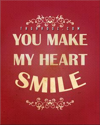 You Make My Heart Smile | Flirty Comments and Graphics - Tagarooz.com