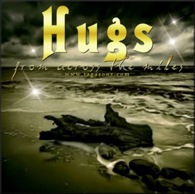 Hugs from across the miles | Tagarooz.com