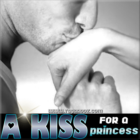 A kiss for a princess