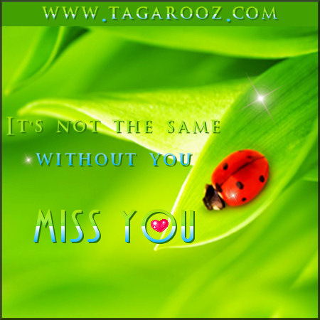 It's not the same without you. Miss you | Tagarooz.com