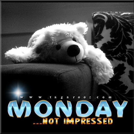 Monday Not Impressed | Monday Comments & Graphics