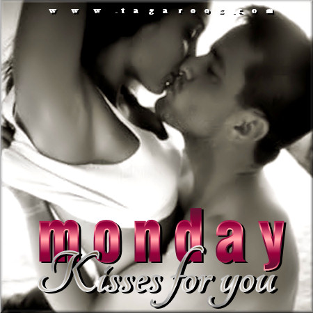 Monday Kisses for You | Monday Comments & Graphics