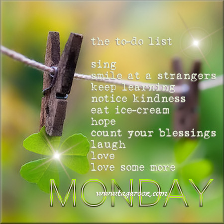 Monday To-Do List  | Monday Comments & Graphics