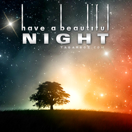 Have a beautiful night | Tagarooz.com