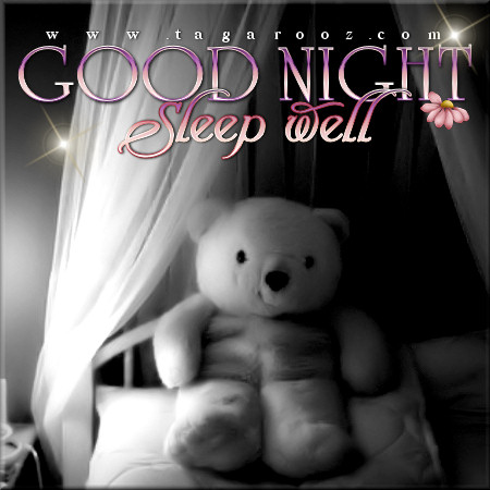 Good night sleep well | Tagarooz.com