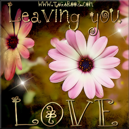 Leaving you some love | Tagarooz.com