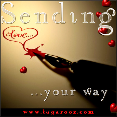 Sending love your way | Tagarooz.com