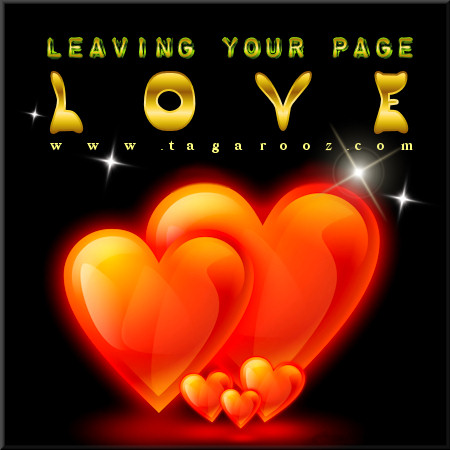 Leaving your page love | Tagarooz.com