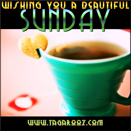 Wishing you a beautiful Sunday | Tagarooz.com