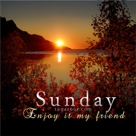 Sunday Enjoy It My Friend | Sunday Comments and Graphics