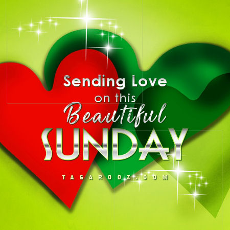 Sending Love on this Beautiful Sunday | Sunday Comments and Graphics