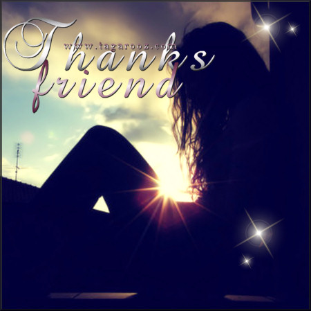 Thanks Friend | Tagarooz.com