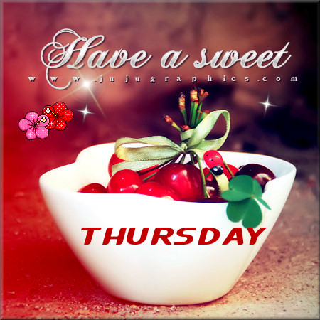 Have a sweet Thursday | Tagarooz.com
