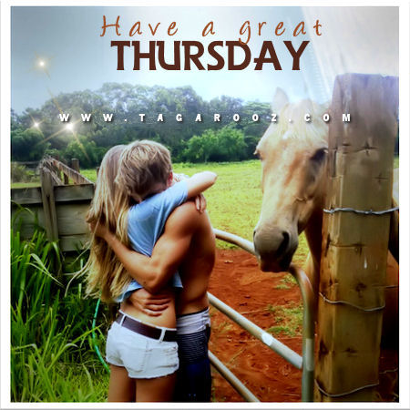 Have a great Thursday | Tagarooz.com