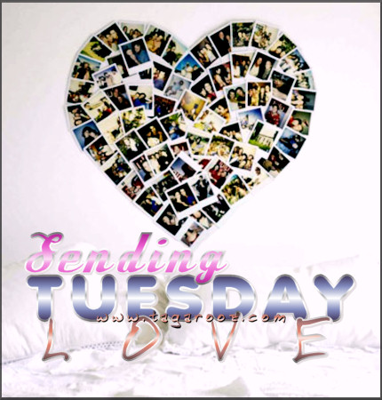 Sending Tuesday Love | Tuesday Comments & Graphics