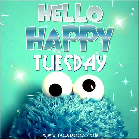 Hello Happy Tuesday | Tuesday Comments & Graphics