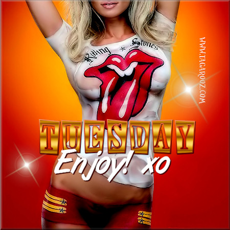 Tuesday Enjoy XO | Tuesday Comments & Graphics