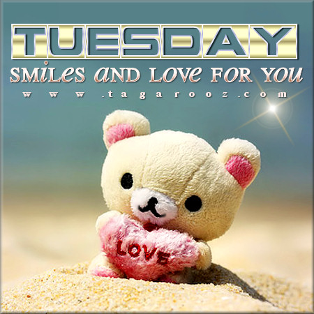 Tuesday Smiles and Love for You | Tuesday Comments & Graphics
