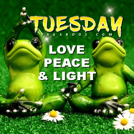 Tuesday Love, Peace, and Light | Tuesday Comments & Graphics