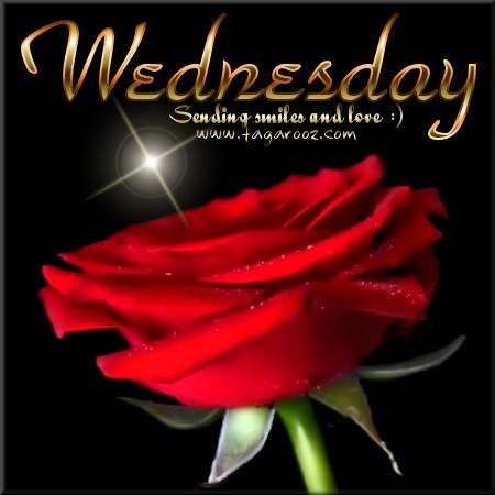 Wednesday Sending smiles and love | Wednesday Comments & Graphics